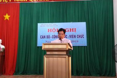 Giới thiệu Bài tham luận về công tác Chủ nhiệm lớp của thầy Trần Hữu Tú tại Hội nghị CBCC 2018