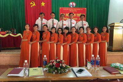 Đại hội các Chi bộ trường THPT Krông Nô, nhiệm kì 2020 – 2022