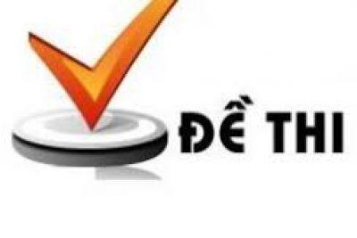 Đề + Giải chi tiết Kiểm tra Vật lí 12 – TN (Học kì 2) (Cô Hà Giang)