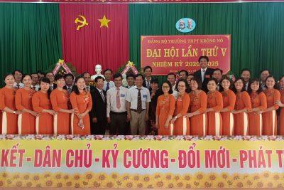 Đại hội Đảng bộ Trường THPT Krông Nô lần thứ V, nhiệm kỳ 2020 – 2025