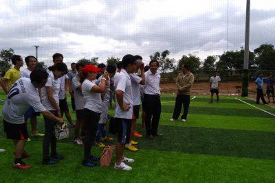 Giao lưu bóng đá Tổ Toán – Tin các trường THPT phía Bắc tỉnh Đăk Nông năm 2017