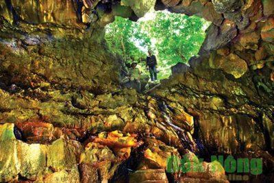 Tài liệu tuyên truyền về Công viên Địa chất núi lửa Krông Nô