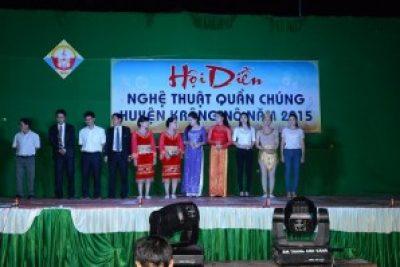Hội diễn văn nghệ quần chúng huyện Krông Nô 2015